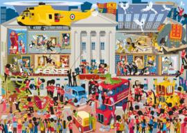 Gibsons 7097 - Lifting the Lid, Buckingham Palace - 1000 stukjes