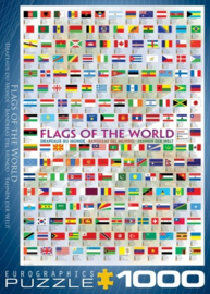 Eurographics 0128 - Flags of the World - 1000 stukjes