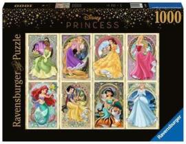 Ravensburger Disney - Art Nouveau Prinsessen - 1000 stukjes