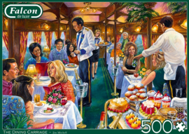 Falcon de Luxe 11328 - The Dining Carriage  - 500 stukjes