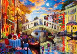 Art Puzzle - Rialtobrug Venetie - 1500 stukjes