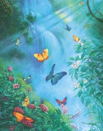 SunsOut 44102 - Butterflies in the Mist - 1000 stukjes OP=OP