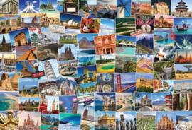 Eurographics - Globetrotter World - 2000 stukjes