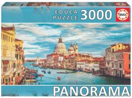 Educa - Kanaal van Venetie - 3000 stukjes  Panorama