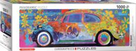 Eurographic - VW Beetle Splash - 1000 stukjes  Panorama