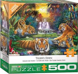 Eurographics 5457 - Tigers Eden - 500XL stukjes