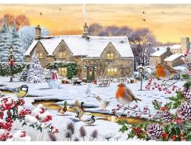 Otter House - Country Garden - 1000 stukjes