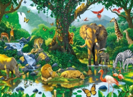 Ravensburger - Jungle Harmony - 500 stukjes