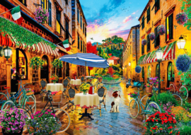 Art Puzzle 5475 - Biking Through Italy - 2000 stukjes