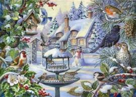 House of Puzzles - Winter Birds 500XL stukjes