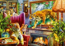 Bluebird - Tigers Coming to Life - 1000 stukjes