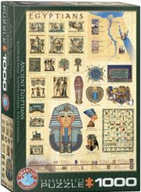 Eurographics 0083 - Ancient Egyptians - 1000 stukjes