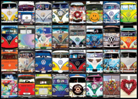 Eurographics 0870 - VW Cool Faces - 1000 stukjes