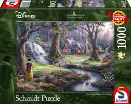 Disney Thomas Kinkade -Sneeuwwitje - 1000 stukjes