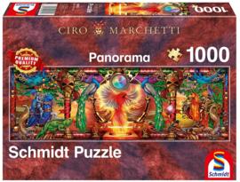 Schmidt - Koninkrijk van de Vuurvogel - 1000 stukjes  Panorama