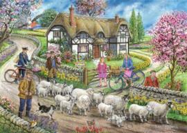 House of Puzzles - Daffodil Cottage - 1000 stukjes