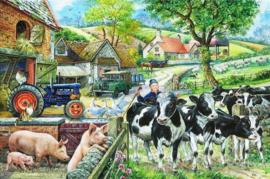 House of Puzzles - Oak Tree Farm - 500XL stukjes