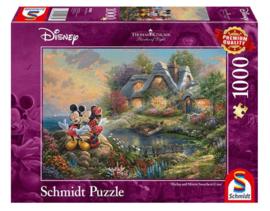 Disney Thomas Kinkade - Mickey & Minnie - 1000 stukjes