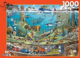 Puzzelman Jan Dankers - Onder Water - 1000 sukjes