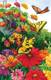 SunsOut 62940 - Garden of Butterflies - 1000 stukjes