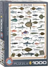 Eurographics 0313 - Sea Fish - 1000 stukjes