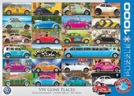 Eurographics 5422 - VW Gone Places - 1000 stukjes