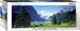 Eurographics - Lake Louise Canadian Rockies - 1000 stukjes  Panorama