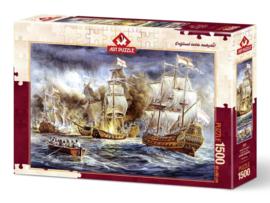 Art Puzzle - Battleship War - 1500 stukjes