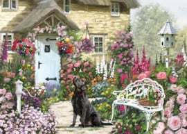 Otter House - Cottage Garden - 1000 stukjes