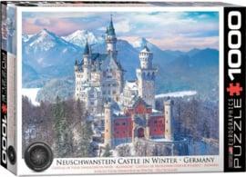 Eurographics - Neuschwanstein Castle in Winter - 1000 stukjes