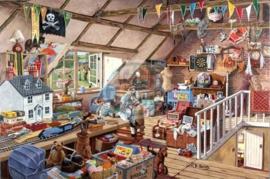 House of Puzzles - Grandma's Attic - 1000 stukjes