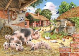 House of Puzzles - Poppy's Piglets - 500XL stukjes