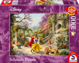 Disney Thomas Kinkade - Dansen met de Prins - 1000 stukjes