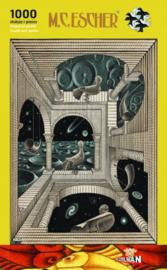 Puzzelman M.C.Escher - Andere Wereld - 1000 stukjes