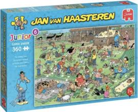 Jan van Haasteren - De Kinderboerderij - 360 stukjes  JUNIOR