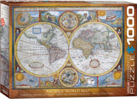 Eurographics 2006 - Antieke Wereldkaart - 1000 stukjes