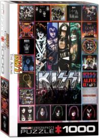 Eurographics 5305 - KISS The Albums - 1000 stukjes