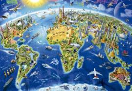 Educa - World Landmarks - 2000 stukjes