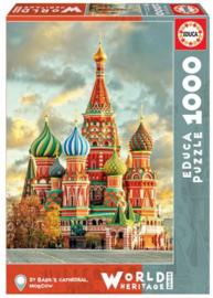 Educa - Moscow-St. Basil's Cathedral - 1000 stukjes