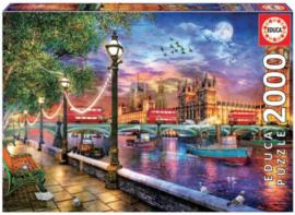 Educa - London bij Ondergaande Zon - 2000 stukjes