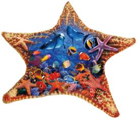 SunsOut 97136 - Starfish - 600  stukjes  Vormpuzzel