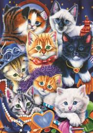 Bluebird - Kittens in he Closet - 1000 stukjes