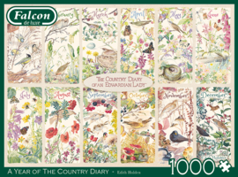 Falcon de Luxe 11305 - a Year of the Country Diary - 1000 stukjes
