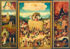 Bluebird Jheronimus Bosch - the Haywain Triptych - 1000 stukjes