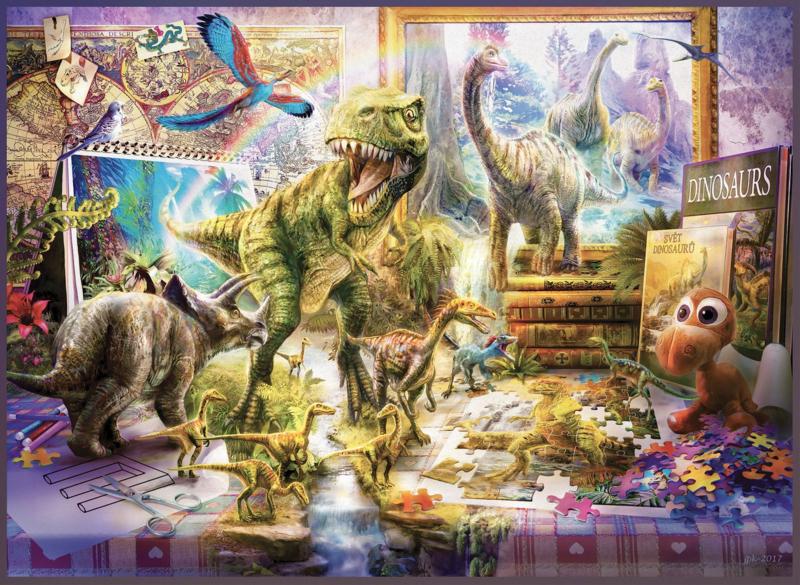 Anatolian - Dino Toys Come Alive - 1000 stukjes