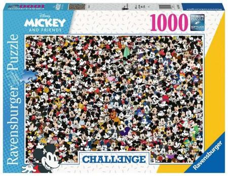 Ravensburger Disney - Mickey (challenge) - 1000 stukjes