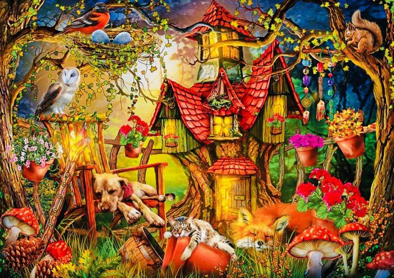 Art Puzzle - Time for Misery - 1000 stukjes