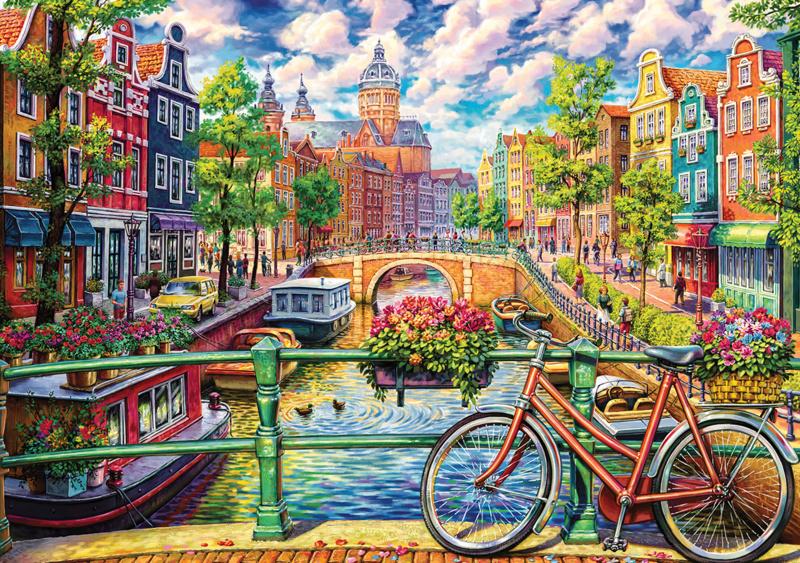 KS - A Colorful City - 1500 stukjes