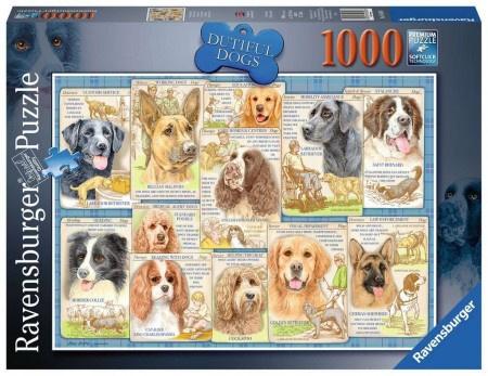 Ravensburger - Trouwe Honden - 1000 stukjes