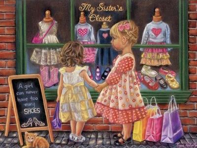 SunsOut 35855 - My Sister's Closet - 300XL stukjes